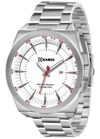 Relógio Xgames Xmss1031 B1sx Prata Redondo Aço - Refinado