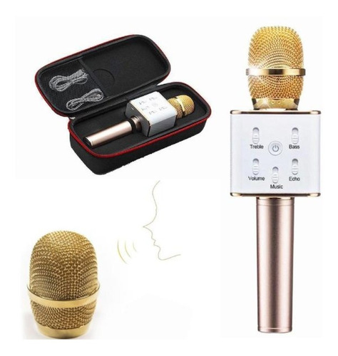 Microfono Karaoke Bluetooth Q7