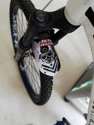 2 piezas guardabarros para bicicleta de monta/ña accesorios antisalpicaduras para bicicleta PFG-MTB-040 guardabarros delantero y trasero para MTB Q/&BGRAFICHE Kit guardabarros MTB