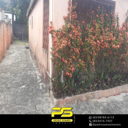 casa com 2 dormitórios à venda por r 180.000,00 - alto do mateus - joão pessoa pb - ca0785