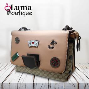8062d4f6c Bolsa Ana Luxory Creme - Bolsas no Mercado Livre Brasil