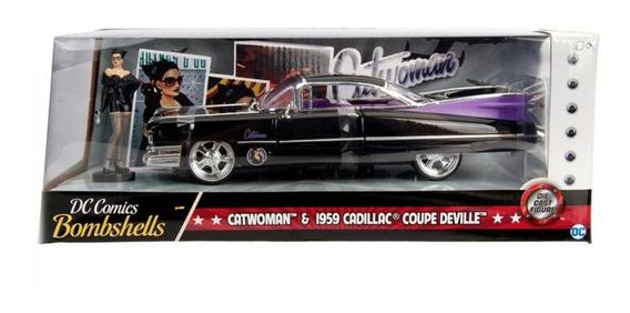 Vehículo De Cat Woman Cadillac 1959 Escala 1:24