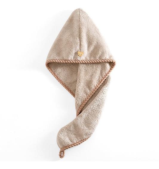 Quick Magic Hair Dry Hat Turban Twist Toalha Wrap Cap Cabeç