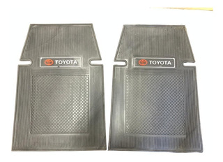 Alfombra Goma 3 Piezas Toyota