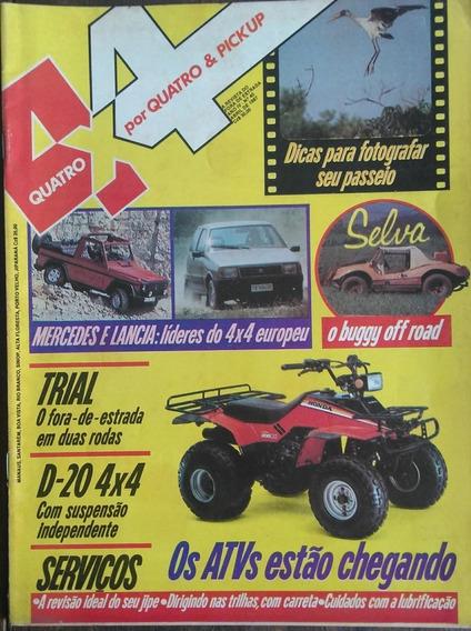 Revista 4x4 Nº40 Abril 1987 Poster: D20 4x4