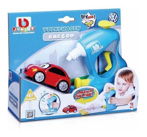 Juego Bebé Excelente Calidad Gas And Go Auto Bburago Junior