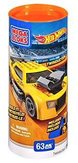 Juguete Mega Bloques Hot Wheels Twinductiontm Turbo