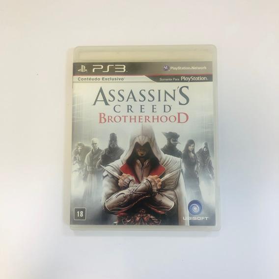 Assassins Creed Brotherhood Ps3 Usado Midia Fisica