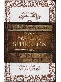 Dia A Dia Com Spurgeon Capa Linho - Luxo + Evangelho Mateus