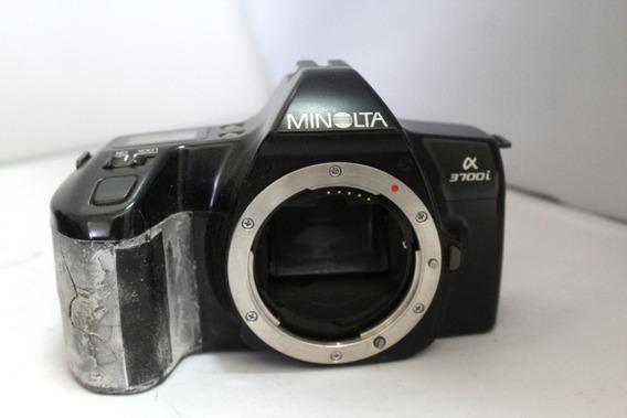 Câmera Fotografica Minolta Alpha 3700i Coleção Retirada Peça