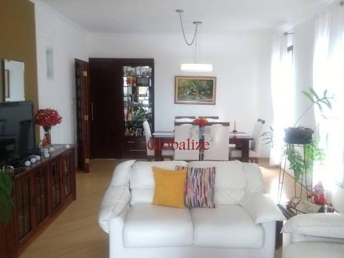 Imagem 1 de 30 de Apartamento Com 3 Dormitórios À Venda, 141 M² Por R$ 765.000,00 - Embaré - Santos/sp - Ap0282