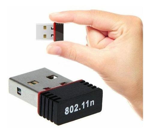 Tarjeta De Red Adaptador Usb Wifi N Tenda 300 Mbps Nano
