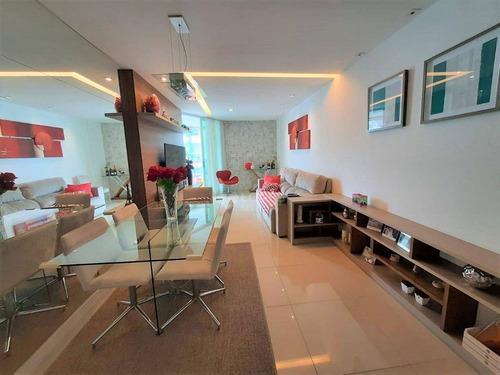 Apartamento Com 3 Quartos E Varanda Gourmet, 109 M² Por R$ 1.000.000 - Icaraí - Rj - Ap45476