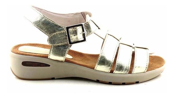 Sandalia Cuero Mujer Briganti Zapato Confort - Mcsd04562