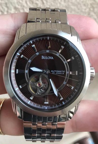 Relógio Bulova Automático 96a101 - Tam: 42mm - Usado
