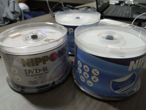 Dvds Nipponic - 153 Unidades