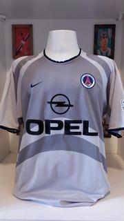 Camisa Futebol 2001 Paris Saint Germain Ronaldinho