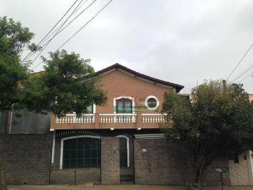 Sobrado Com 4 Dormitórios À Venda, 215 M² Por R$ 979.000,00 - Jardim Bela Vista - São José Dos Campos/sp - So0736