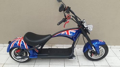 Scooter Elétrica / Patinete Elétrico / Moto Chopper Elétrica