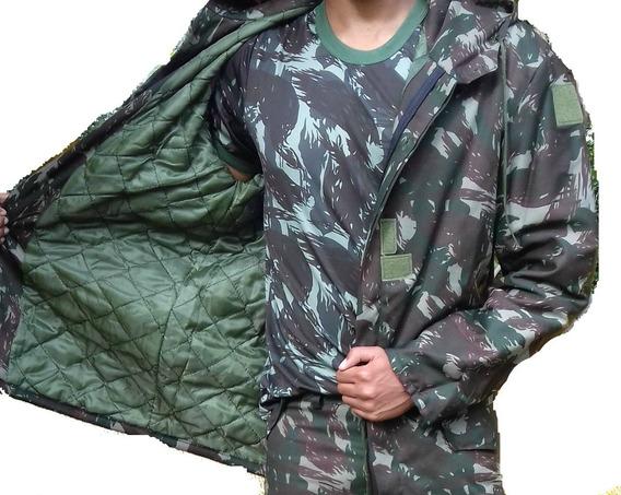 Japona De Campanha Camuflada Exército Militar Com Forro