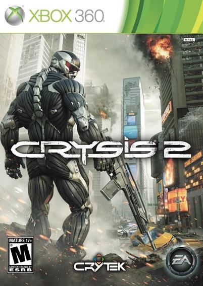 Crysis 2 Xbox 360 Midia Digital Perfil Compartilhado