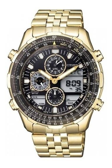 Relógio Citizen Masculino Dourado Tz10173u