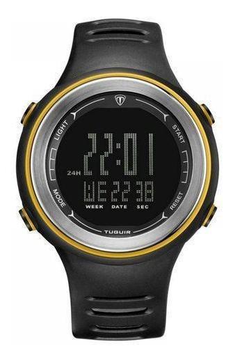 Relógio Masculino Tuguir Digital Tg001 Preto