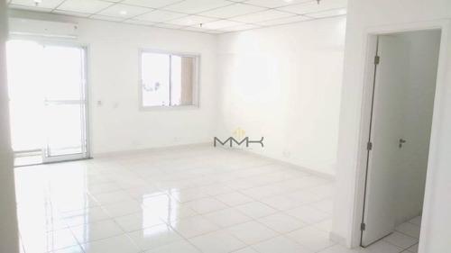 Conjunto No Ed. Fusion Offices, 42 M² - Vila Matias - Santos/sp - Sa0279