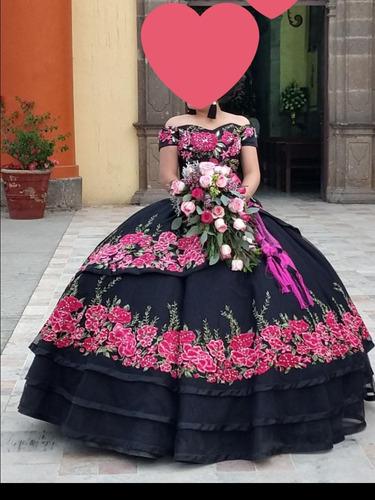 Vestido Para 15 Años Tipo Mexicano Estilo Ragazza 1500000