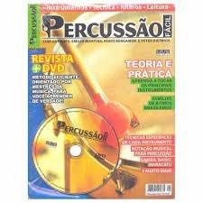 Curso De Percussão Fácil Teoria E Prática Revista + Dvd