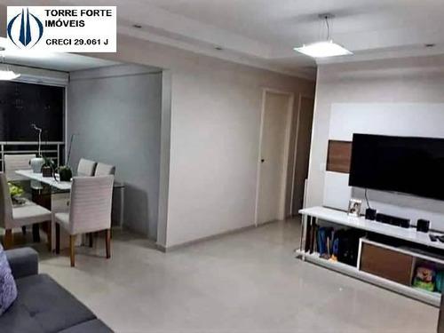 Apartamento Com 3 Dormitórios, Suíte Na Vila Carrão. Aceita Permuta !! - 2346