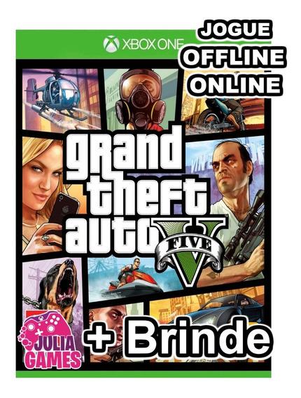 Gta 5 Grand The Auto V Xbox One Midia Digital + Brinde