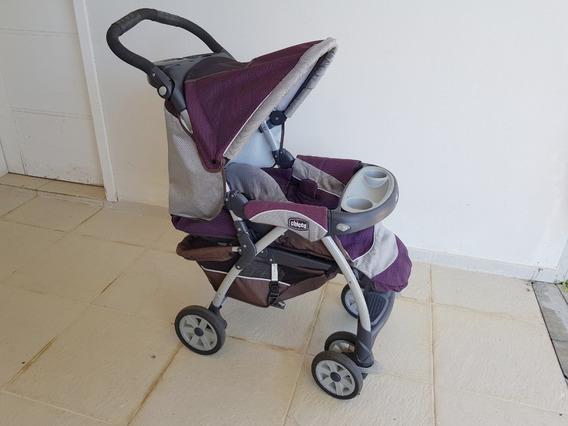 Carrinho De Bebê + Bebê Conforto + 3 Bases Chicco Keyfit 30