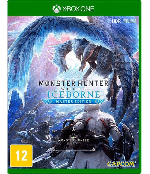 Jogo Monster Hunter Iceborne Xbox One Midia Física Original