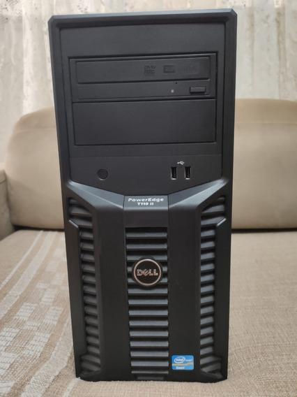 Servidor Dell Power Edge T110 Ii - 500gb - 4gb - Usado