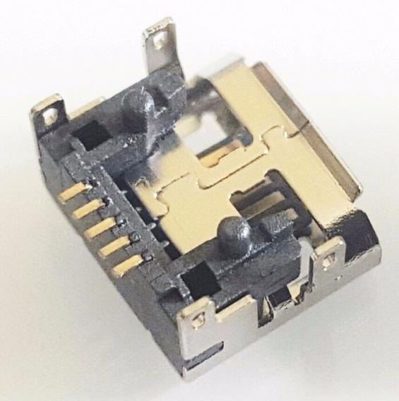 Conector Carga Original Caixa Som Jbl Flip 3 Micro Usb Carta