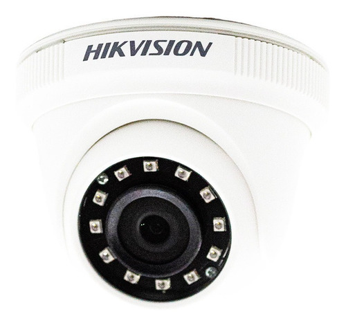 Imagen 1 de 9 de Camara Seguridad Domo Hikvision Turbo Hd 2,8 Mm Ce56c0t Ipf