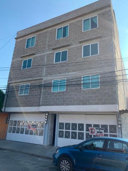 Bonito Y Lujoso Departamento Exterior/calle Con Garage