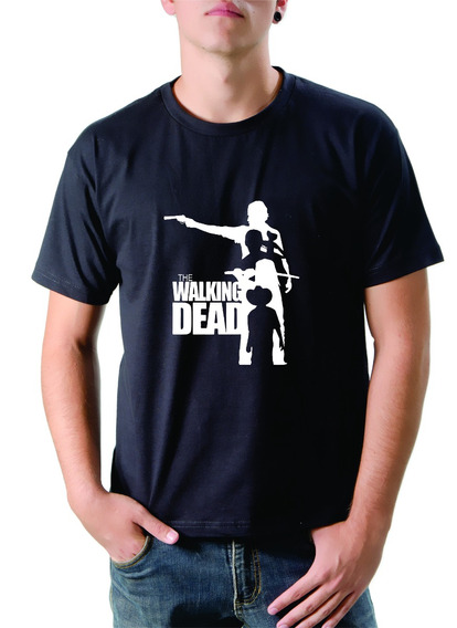 Camiseta The Walking Dead Rick, Daryl, Michonne