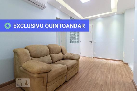 Apartamento No 1º Andar Mobiliado Com 1 Dormitório E 1 Garagem - Id: 892923693 - 223693