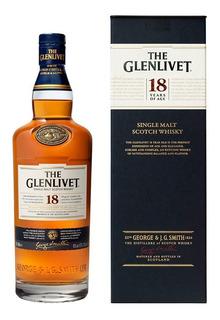 The Glenlivet 18 Años Whisky Escocés Single Malt 700 Ml