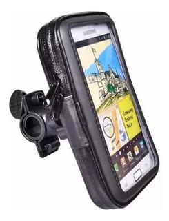 Porta Celular Gps Moto Funda Pantalla Tactil Motoscba P