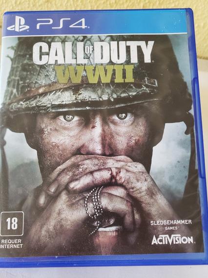 Call Of Duty Ww 2 Em Mídia Física