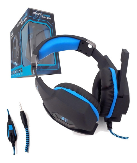 Headset Gamer 7.1 Usb Com Fio P2 Pc Not Ps4 Xbox One 451 Kn