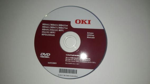 Impressora Okidata Mb491 Cd De Instalação