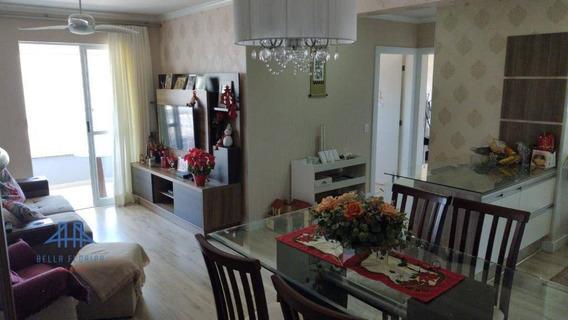 Apartamento Com 2 Dormitórios À Venda, 80 M² Por R$ 340.000 - Campinas - Florianópolis/sc - Ap2931