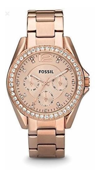 Reloj Fossil Dama Original Modelo Es2811 - Br
