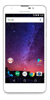 Smartphone Multilaser Ms55m 16gb 4g Dual Branco Outlet