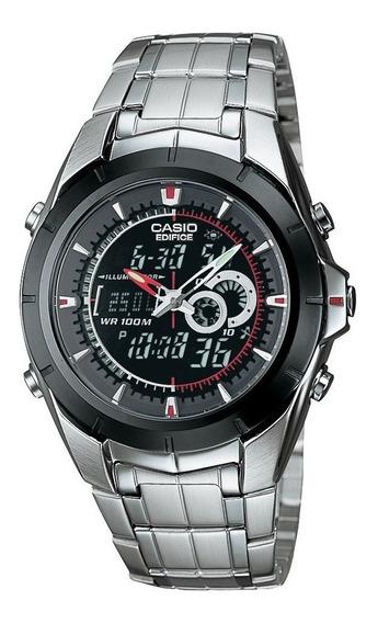 Reloj Casio Edifice Efa 119 Antirayas Termometro De Lujo Msi