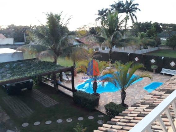 Chácara Com 2 Dormitórios À Venda, 1000 M² Por R$ 750.000 - Parque Mangueira - Americana/sp - Ch0050
